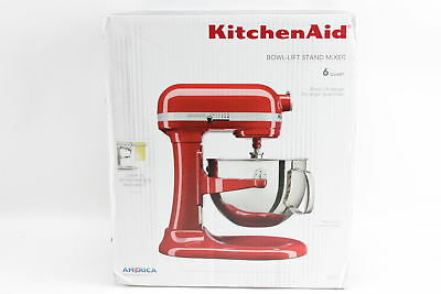 KitchenAid KL26M1XER Professional 6-Qt. Bowl-Lift Stand Mixer - Empire Red BNIBS