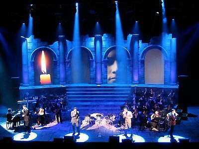 4 x Motorised touring projection screens - Ex IL Divo World Tour