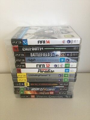 Assorted PS3 Games - 12 Games
