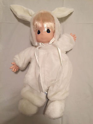 NEW Rare Precious Moments White Bunny Rabbit Doll 19 Inch