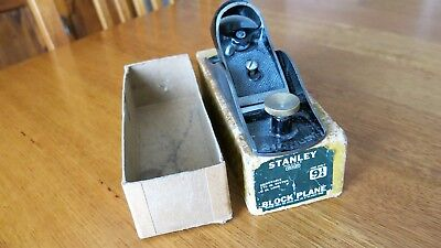 Stanley 9 1/4 Block Plane, made in USA