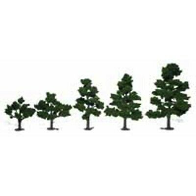 "Woodland Scenics TR1112 Deciduous Tree Kit 3""-7"" Medium Green, Makes 6 Trees"