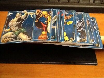 Part Set 50/64 Marvel Figure Factory Series 1 Cards