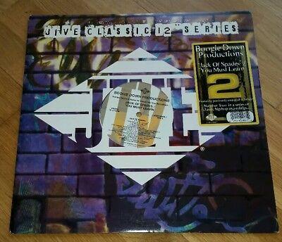 "BOOGIE DOWN PRODUCTIONS - Jack of spades / you must learn Vinyl 12"" Classic"