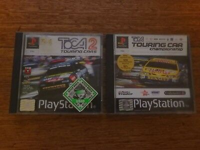 Toca Touring Cars 1 & 2 - Play Station 1 - PS1 - Pal