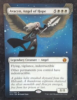 ► MTG Avacyn, Angel of Hope, Altered Art, Iconic Masters, hand painted alter ◄