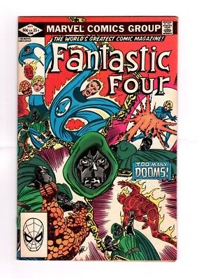 Marvel Comics - FANTASTIC FOUR - Bronze Age - John Bryne - 242,243,244,245,246