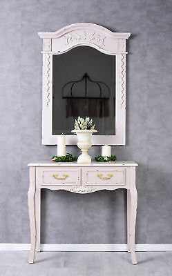 Table Console Shabby Wall Side Country Style Make-Up