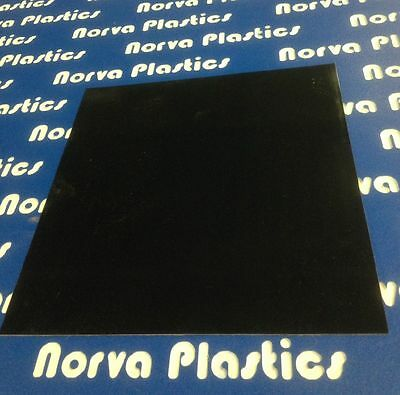 "G10 Black Phenolic Sheet - 1/4"" x 6"" x 6"""