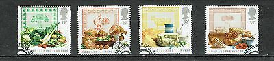 GB Stamps 1989 Food and Farming Year SG1428-1431