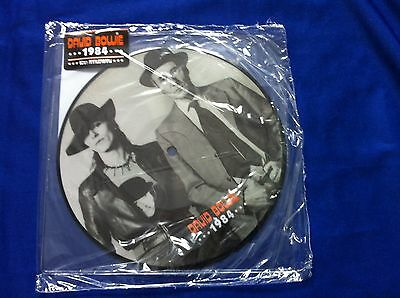 "David Bowie - 1984 Picture Disc 7"" Vinyl Rsd - Very Rare Sealed In Original Bag"