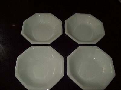 "4 X Johnson Brothers Heritage Snack Nibbles Dishes 5.25"" Rare Item - Excellent"