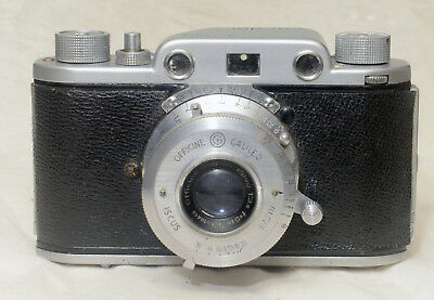 1950's Ferrania Condor 1 Rangefinder 35mm Camera. Made in Italy