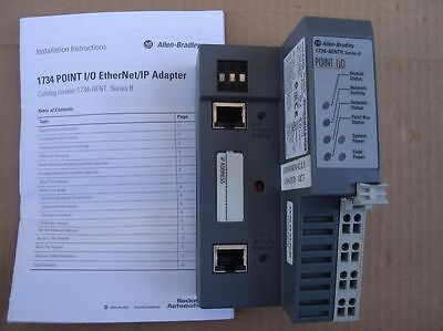 Allen Bradley 1734-AENTR POINT I/O 2 Port Ethernet Adapter