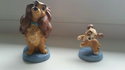 """Disney WDCC Lady and The Tramp """"Welcome home"""" OVP + Zertifikat"""