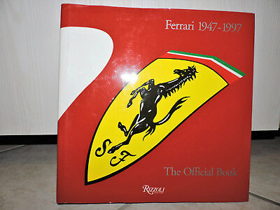 fERRARI 1947-1997 OFFICIAL BOOK RIZZOLI New York 1999+ DRIVING AMBITION MCF1