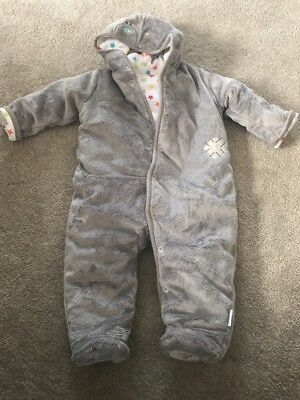 78d736627a197 BABY UNISEX TATTY teddy/me to you bear snowsuit Pram Suit 3/6 months ...