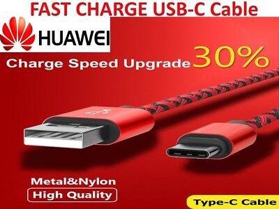 Genuine USB Type-C Fast Charger Cable Cord for Huawei P9 P10 Pro Mate 9 10 Honor