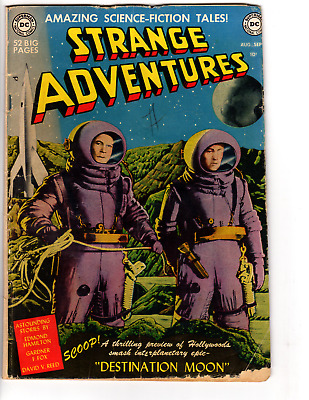 Strange Adventures # 1 (GD 2.0) 1950 DC Science Fiction First issue