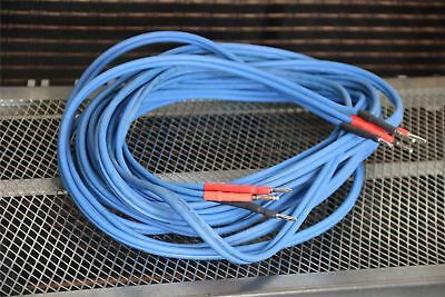 Audio Note 2x5.5M AN-L Copper - blue, speaker cable Professionally Terminated