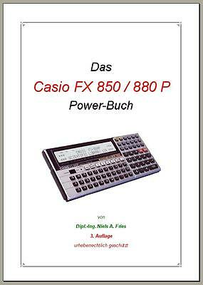CASIO FX 850 P / 880 P Power Buch mit Software-Pool-Disk – deutsch