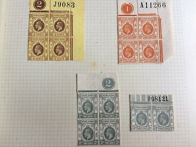 Hong Kong Empire stamps - album; 42 pages of stamps; some MINT
