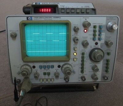 HP1740A 100MHz 2 Channel Oscilloscope