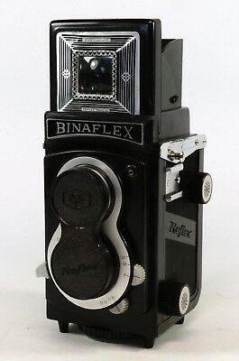 Vintage Binaflex 6X6 120 T.L.R Type.,  Working In Box With Insts.  V.G.C.