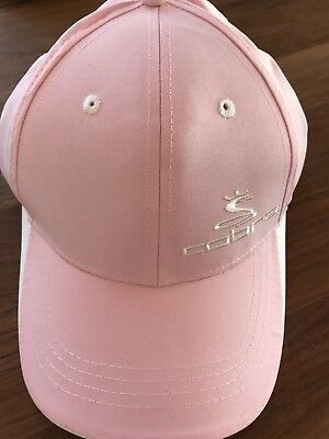 Cobra Damen Golf Cap Neu Rosa