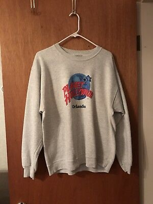 '90s Planet Hollywood ~Orlando, Florida~ Embroidered (size large) SWEATSHIRT Ltd