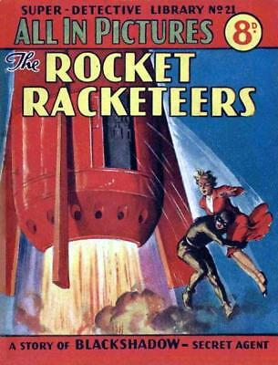 SUPER DETECTIVE LIBRARY No.21 - THE ROCKET RACKETEERS - Facsimile Comic