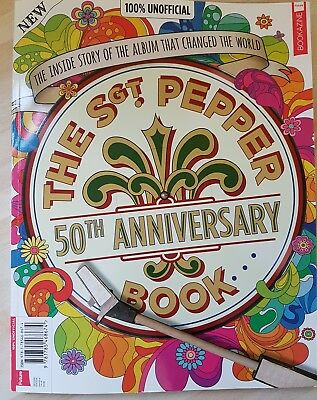 THE BEATLES - THE Sgt. PEPPER 50th ANNIVERSARY BOOK - 2018 - NEW