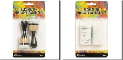 Tim Holtz Alcohol Ink MINI APPLICATOR TOOL & replacement Felt Ranger