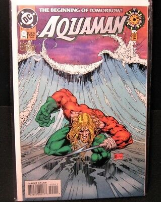 Dc Comics Aquaman The Beginning Of Tomorrow Oct 1994 # 0