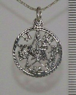 Sterling Silver TETRAGRAMMATON Necklace Pendant