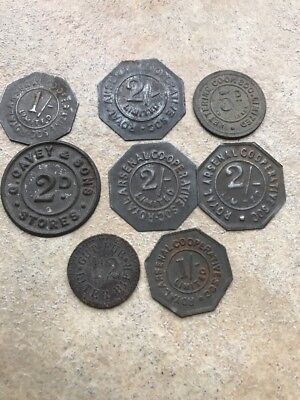 Early Co-op Tokens Kettering & Royal Arsenal X8