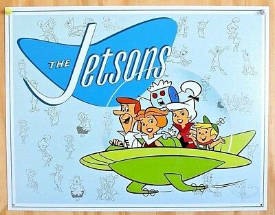 Jetsons TIN SIGN Retro Vintage Cartoon Metal Poster Picture Bar Kid Room Decor