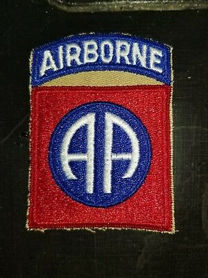 WWII 1950s US Army 82nd Airborne Infantry Division  Patch