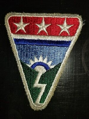 WWII US Army Ledo Road Patch