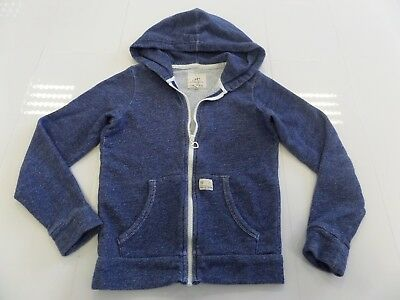 Blue Hoodie Zip Up Brand Wear With Love Girls Age 10-11