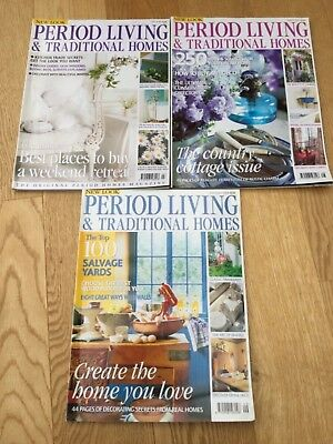 Period living and traditional homes magazine July to September 2001