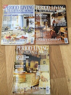 Period living and traditional homes magazine July to September  2000