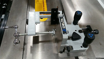 Delta Table Saw Adjustable Tenoning Jig #34-184C Complete And Clean
