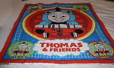 Thomas The Tank Engine Quilted Panel Wall Hanging Fabric Panel Unfinished New