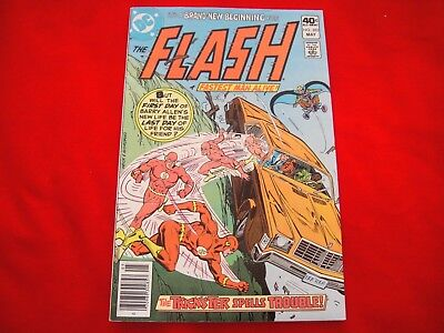 The Flash #285 ~ May 1980 ~ Dc Comics ~ Trickster ~ 1St Appearance Fiona Webb