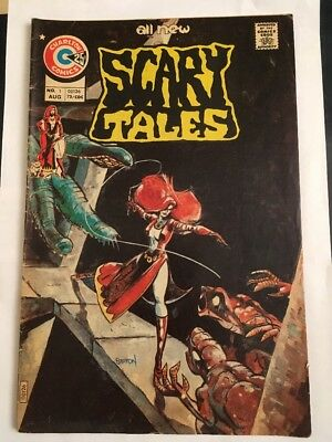 Scary Tales #1 (Charlton) August 1975