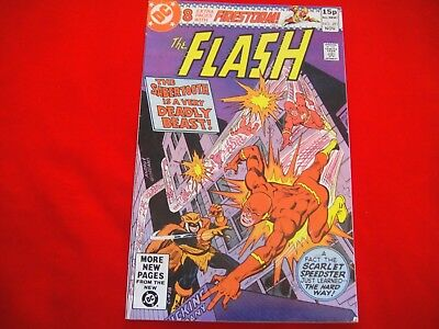 The Flash #291 ~Nov 1980~Dc Comics~Key Issue~1St Appearance Sabre-Tooth~Firestor