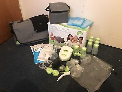 Ardo Calypso To Go double breast pump with Amaryll manual pump and extras
