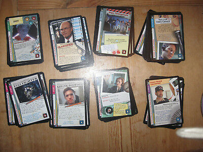 X Files Collectible Card Game 10131 Expansion by USPG part complete set CCG