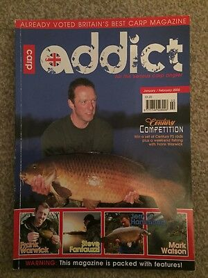 Carp addict Magazine issue 4 For Sale Terry Hearn Jim Shelley Dave Lane ESP